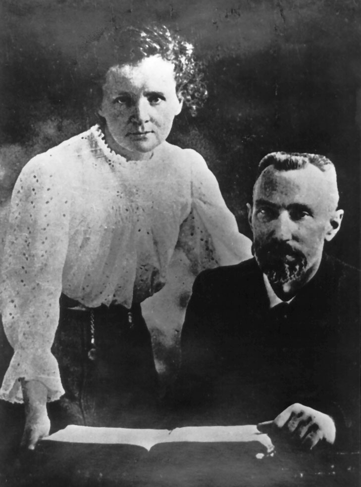 the discovery of polonium and radium by pierre and marie curie Marie curie and the discovery of radium  prize awarded to marie curie in 1911 for the discovery of radium and polonium,  marie met pierre curie,.